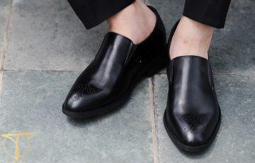 Giày lười nam 2018 được chú ý như thị trường chứng khoán VN Index