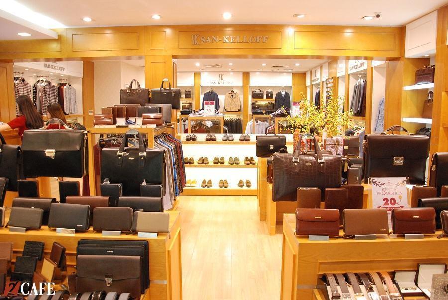 Shop giày San-Kelloff tại Hà Nội (Nguồn ảnh: Internet)