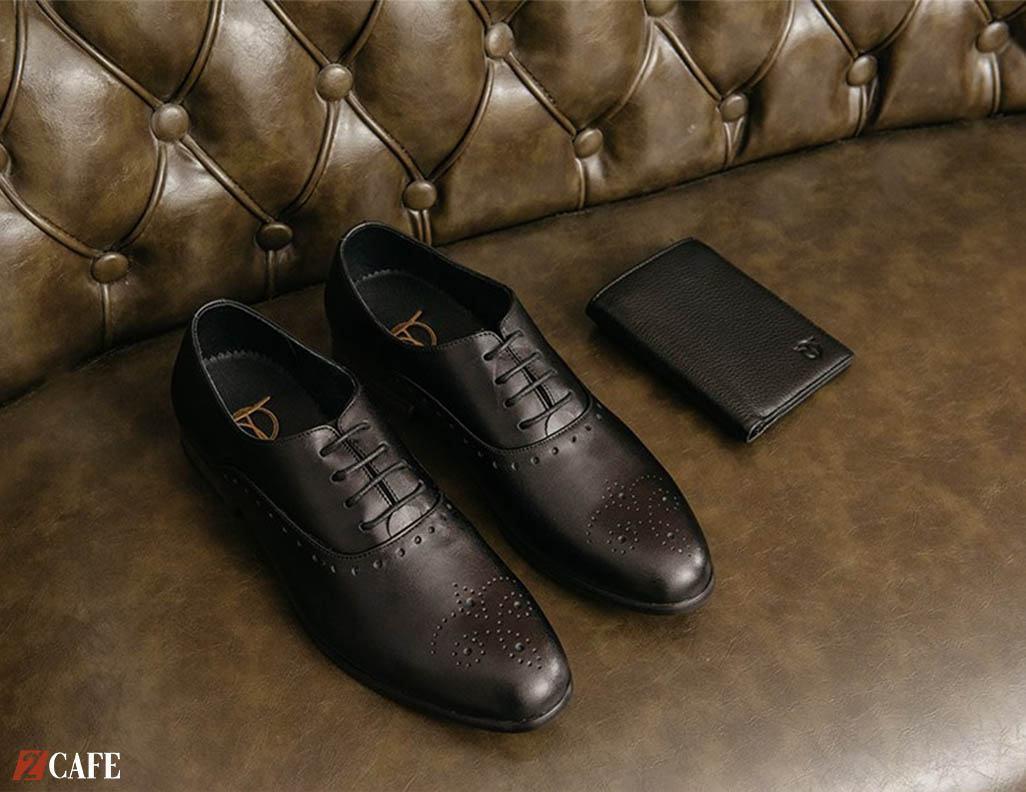 (Giày nam dáng Oxford đục lỗ giá 700.000đ – Shop Đồ da Tâm Anh)