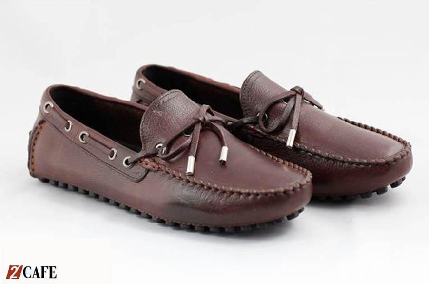 Giày lười da bò Ecco (Nguồn: Internet)