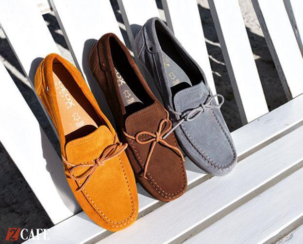 Giày mọi nam GeoX tạo cảm giác đi êm ái, thoáng khí ngay cả trong điều kiện thời tiết nóng ẩm của Việt Nam (Nguồn: Internet)
