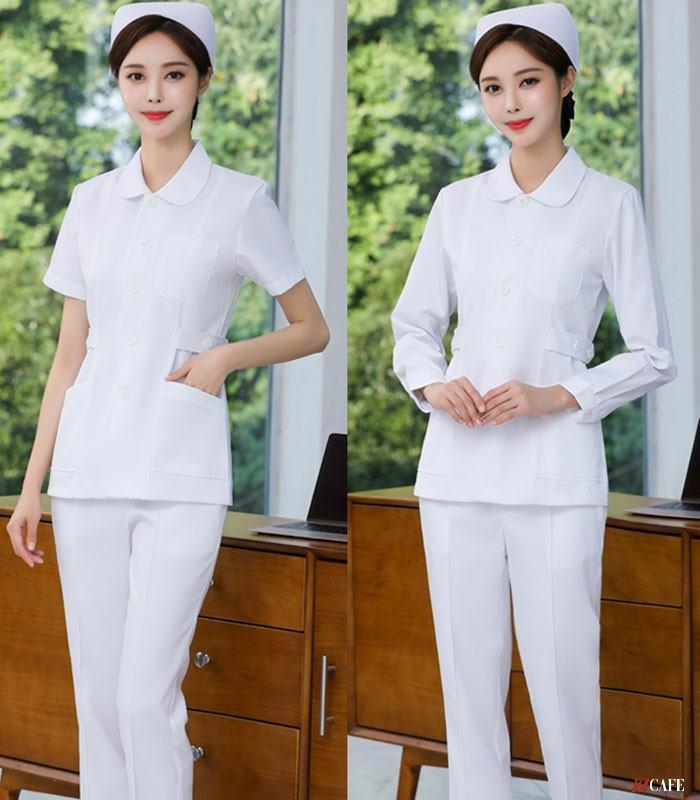 Mẫu thiết kế quần áo đồng phục điều dưỡng của May Phương Thảo (Ảnh: Internet)