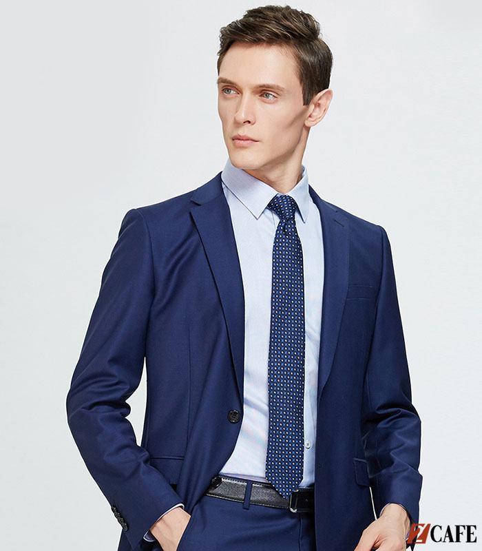 Bộ vest trở nên trẻ trung hơn nhờ chiếc cà vạt