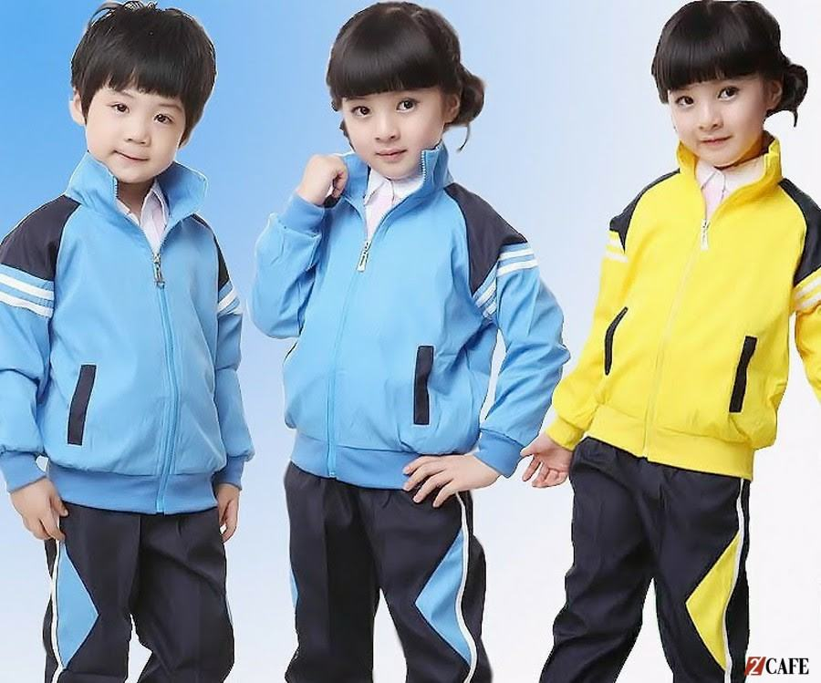 Mẫu đồng phục kết hợp áo gió của đồng phục Ngôi Sao (Ảnh: Internet)