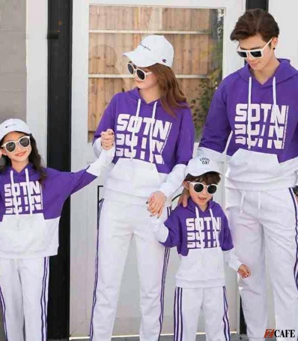 Áo khoác dáng hoodie có thể làm đồng phục cả thầy cô và học sinh (Ảnh: Internet)