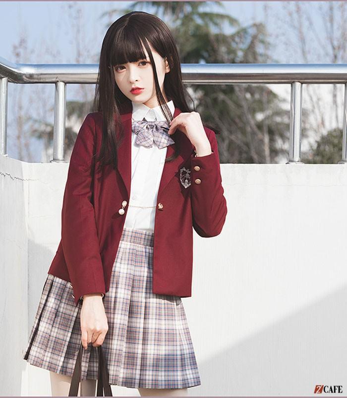 Mẫu thiết kế đồng phục học sinh nữ của đồng phục Ngôi Sao( Ảnh Internet)