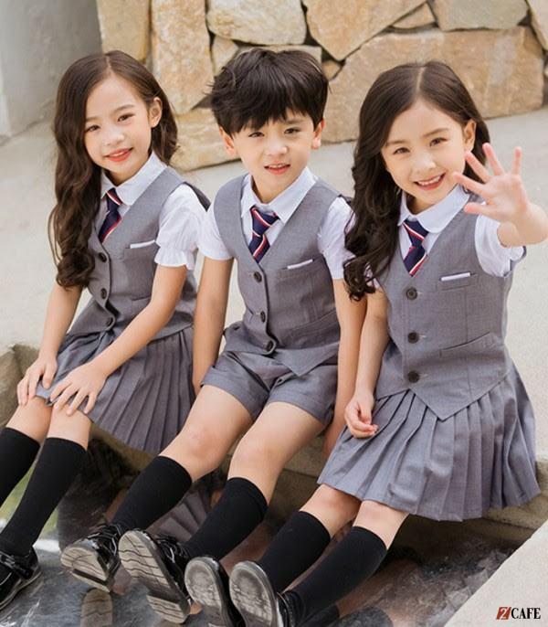 Đồng phục học sinh tiểu học quốc tế ( Ảnh: Internet)