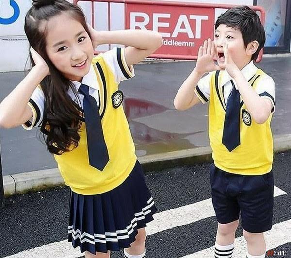 Đồng phục học sinh phong cách Hàn Quốc Thành Hưng IDI ( Ảnh: Internet)