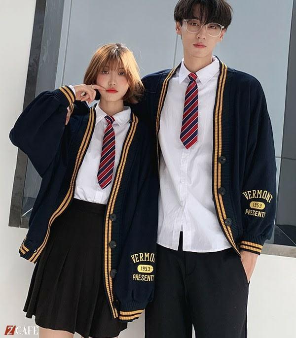 Thiết kế đồng phục của học sinh cấp 2 Đồng phục Ngôi Sao ( Ảnh: Internet)