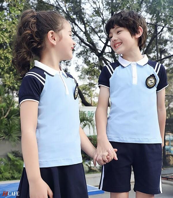 Thiết kế đồng phục của học sinh cấp 1 Đồng phục Ngôi Sao ( Ảnh Internet)