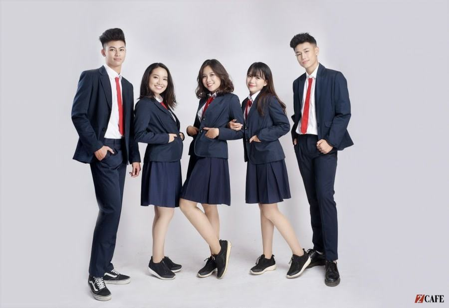 Mẫu đồng phục học sinh trung học – Đồng phục Phương Thảo ( Ảnh: Internet)