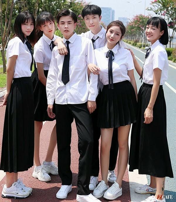 Mẫu đồng phục học sinh trung học – Đồng phục Phương Thảo ( Ảnh Internet)