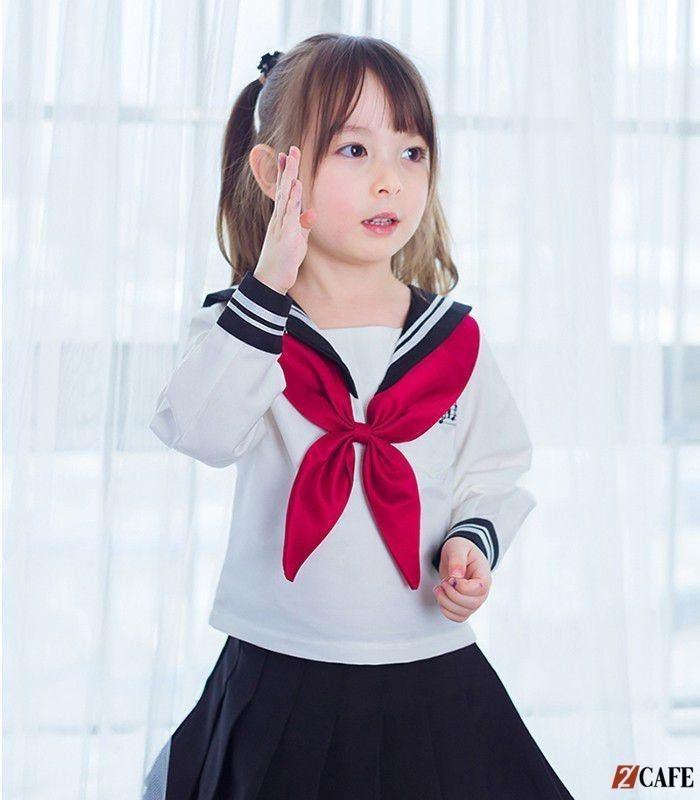 Đồng phục màu xanh mang phong cách Nhật Bản (Ảnh: Internet)