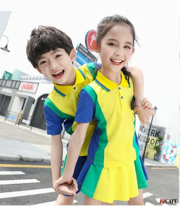 Đồng phục thể dục học sinh tiểu học (Ảnh: Internet)