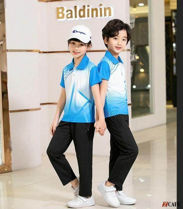 Đồng phục học sinh tiểu học thể thao tại Đồng phục Đức Huy (Ảnh: Internet)