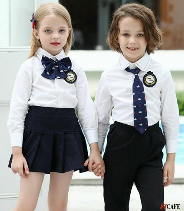 May Phương Thảo chuyên may đo và bán sẵn đồng phục trường mầm non quốc tế (Ảnh: Internet)