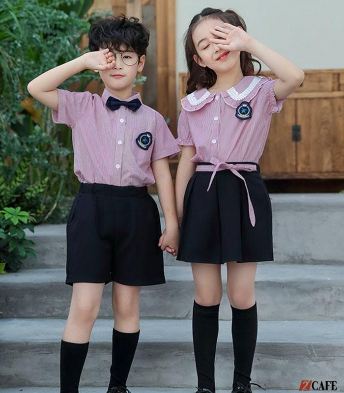 Mẫu đồng phục học sinh phong cách Hàn Quốc (Ảnh: Internet)