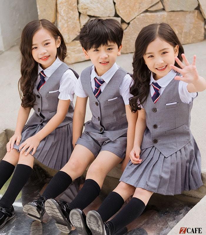 Váy đồng phục học sinh tiểu học (Ảnh: Internet)