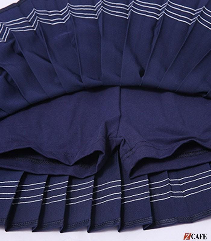Chất liệu vải dày dặn cùng đường may chỉn chu của sản phẩm đồng phục Ngôi Sao (Ảnh: Internet)