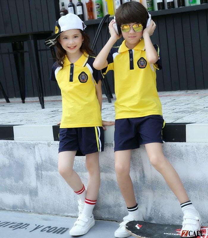 Đồng phục trẻ em mầm non Phương Thảo có chất liệu 100% cotton (Ảnh: Internet)