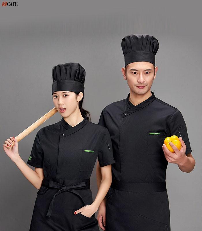 Mẫu áo đồng phục bếp đang bán chạy số 1 tại Ngôi Sao (Ảnh: Internet)