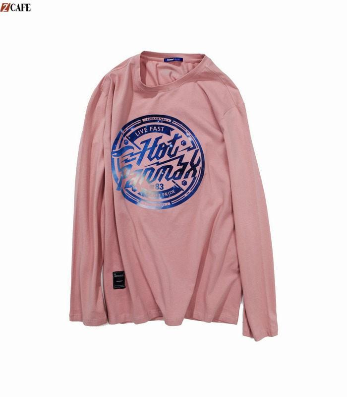 Áo lớp màu hồng dạ quang thời trang với thiết kế đơn giản (Ảnh: Internet)