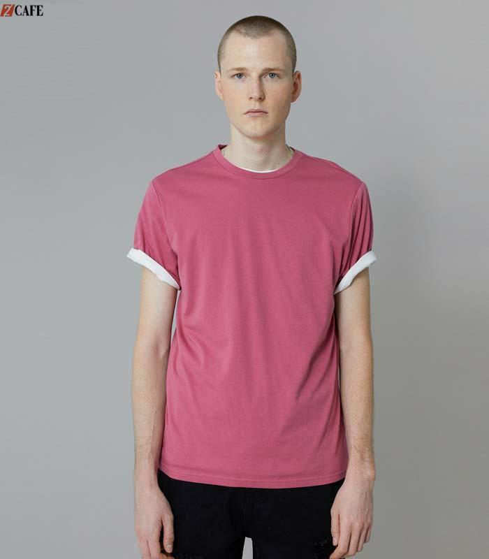 Tone màu hồng đất giúp tôn da, không kén người mặc kết hợp với cổ áo caro đem đến vẻ đẹp hài hòa (Ảnh: Internet)